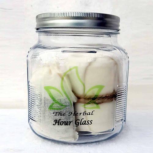 Hour Glass Bottle
